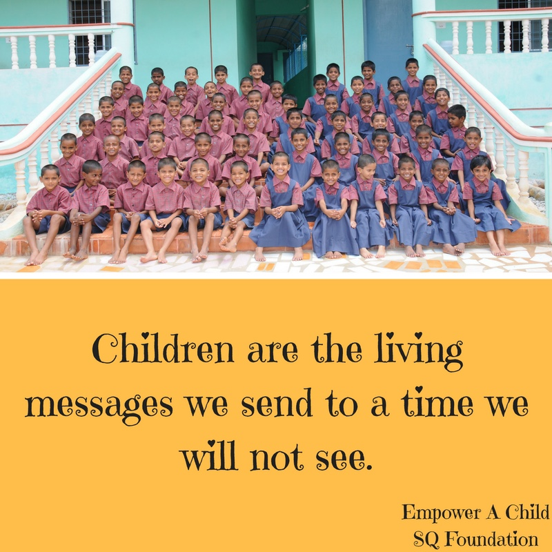 Empower A Child Quote SQ Foundation Fascinating Sq Quote